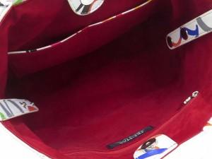 cf202c164481 tre star トレスター クレイジーナンバー スター スタッズ ハンド トート バッグ ホワイト マルチカラー レディース