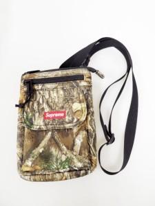 【中古】シュプリーム SUPREME 19AW Shoulder Bag REAL TREE ショルダーバッグ リアルツリー カモ 迷彩 210403 ☆AA★
