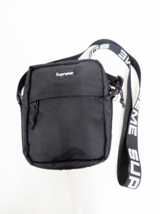 【中古】シュプリーム SUPREME 18SS CORDURA Shoulder Bag Black コーデュラ ロゴ ショルダーバッグ 210608☆AA★200