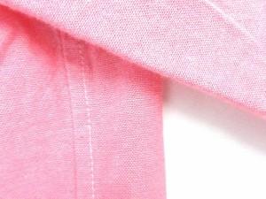 インディヴィ INDIVI 長袖 シャツ ピンク サイズ 07 レギュラーカラー 無地 シンプル トップス LEK レディース