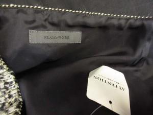 フレームワーク Framework ミニスカート ショート 台形 ウール黒 ブラック 38 【中古】 ベクトル【中古】