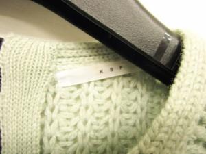 ケイビーエフ KBF アーバンリサーチ ニット セーター カットソー ミントグリーン 緑 ONE 1209 ベクトル【中古】