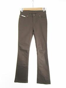 GRAMERCY パンツ ブーツカット ストレッチ 綿混 XS ブラウン 茶 レディース ベクトル【中古】
