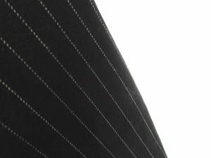 シンプリシテェ SIMPLICITE パンツ スラックス ストライプ柄 ワンタック ストレッチ 黒 白 レディース ベクトル【中古】