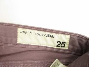 ラグ&ボーン RAG&BONE JEAN LEGGING スキニー ジーンズ パンツ ストレッチ 25 パープル 国内正規品 レディース ベクトル【中古】