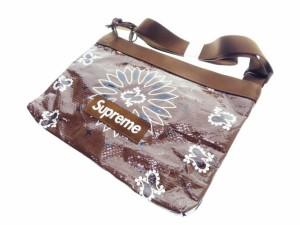 【中古】シュプリーム SUPREME 21ss Bandana Tarp Side Bag バンダナ ショルダー バッグ 茶色 ●▲☆AA★ 210528 0040