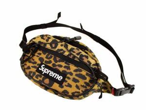 【中古】シュプリーム SUPREME 20AW Waist Bag ボディバッグ ウエストバッグ ショルダーバッグ 鞄 レオパード ★AA☆