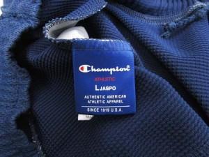 チャンピオン CHAMPION ジャージ パンツ スポーツウエア L 紺 ネイビー ライン B85820 メンズ