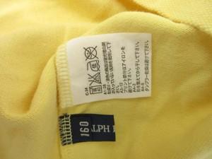 a0017a8cd724d ラルフローレン RALPH LAUREN ポロシャツ トップス 鹿の子 刺繍 子供服 ジュニア 160 黄色 イエロー B94278