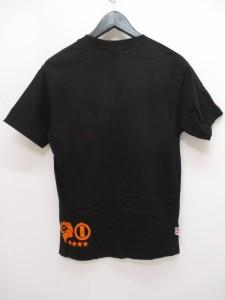 ネスタブランド NESTA BRAND 半袖 Tシャツ カットソー S 黒系 ブラック プリント クルーネック 綿 コットン  メンズ ベクトル【中古】