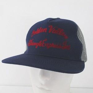 5824837b43e2b 【中古】ペナントバナーズ PENNANT BANNERS キャップ 帽子 切替え メッシュ ブルー 青系 綿 コットン