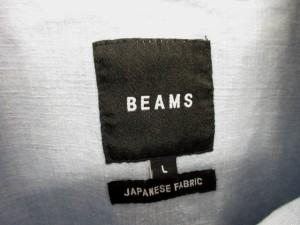 未使用品 ビームス BEAMS ジャケット パーカー デニム フーデッド プルオーバー SNOW PARKA サックス L メンズ ベクトル【中古】