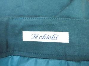 テチチ Te chichi スカート 膝丈 緑 M 【中古】 ベクトル【中古】