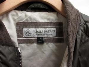 プーマ PUMA ルドルフダスラー RUDOLF DASSLER ジャケット ブルゾン MA-1 ナイロン M 茶色 /YM994 メンズ