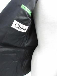 クロエ CHLOE ジャケット テーラード 長袖 黒 38 /TU レディース ベクトル【中古】