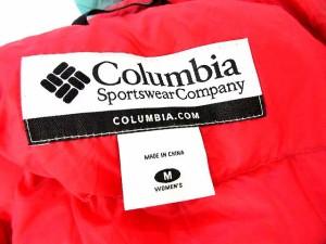 コロンビア Columbia ダウンジャケット フード ライト M グリーン 緑 /☆G レディース ベクトル【中古】