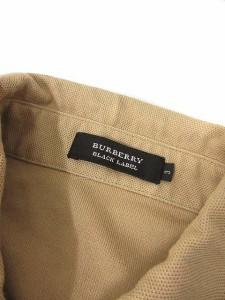 バーバリーブラックレーベル BURBERRY BLACK LABEL ポロシャツ 半袖 ブラウン 3 /TU メンズ ベクトル【中古】