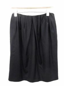 ドゥーズィエムクラス DEUXIEME CLASSE スカート ひざ丈 36 黒 /☆G レディース ベクトル【中古】
