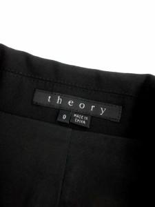 セオリー theory ジャケット テーラード 0 黒 /TK レディース