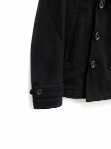 アメリカンラグシー AMERICAN RAG CIE ピーコート ショート丈 中綿 ウール 1 黒 /KH メンズ ベクトル【中古】