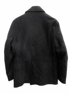 シップスジェットブルー SHIPS JET BLUE ピーコート 中綿 ウール M 黒 /KH メンズ ベクトル【中古】
