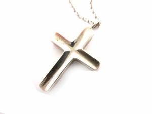 ティファニー TIFFANY & CO. ネックレス  クロス シルバー 925 十字架 /☆G レディース