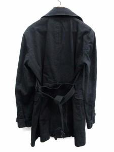 ラウンジリザード LOUNGE LIZARD コート ハーフ ベルト 3 黒 /KH メンズ ベクトル【中古】
