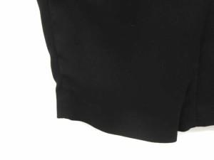 エンフォルド ENFOLD パンツ スラックス テーパード 36 黒 /TK レディース