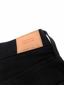 未使用品 デラックス Deluxe デニム ジーンズ パンツ テーパード ROCKER W35 L33 黒 16AD4041 /KH メンズ ベクトル【中古】