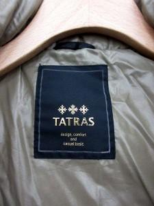 タトラス TATRAS ダウンジャケット クルサ CURSA ナイロン 1 カーキ LTA13A4151 /YM レディース ベクトル【中古】