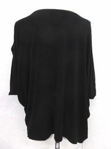 イッセイミヤケ ISSEY MIYAKE カットソー Tシャツ 半袖 2 黒 /☆G レディース