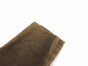 マーガレットハウエル MARGARET HOWELL シャツワンピース 七分袖 リネン 2 ベージュ /KH レディース ベクトル【中古】
