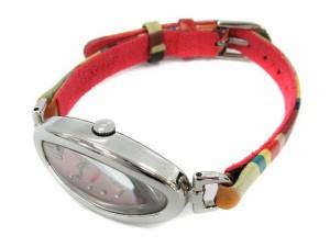 ポールスミス PAUL SMITH 腕時計 クォーツ レザー マルチカラー ピンク 5420-T004377 ●D /☆K レディース ベクトル【中古】