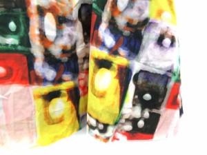 未使用品 ポールカ PAULE KA スカート フレア ひざ丈 総柄 36 マルチカラー /TK レディース ベクトル【中古】