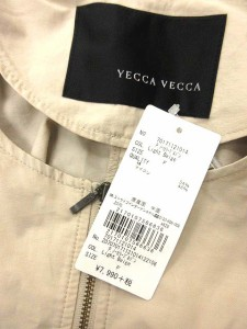 イェッカヴェッカ YECCA VECCA ジャケット ブルゾン ナイロン ボリューム袖 無地 長袖 F ベージュ /HM レディース