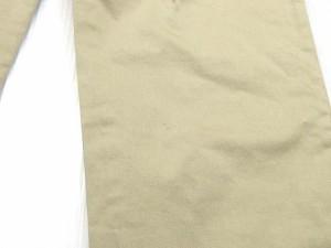 ディープブルー DEEP BLUE パンツ スラックス テーパード ベージュ M LEK レディース ベクトル【中古】