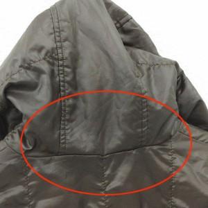 ユニクロ UNIQLO ジャケット 中綿 リバーシブル ナイロン ジップアップ 茶 黄緑 size M 171016 メンズ ベクトル【中古】