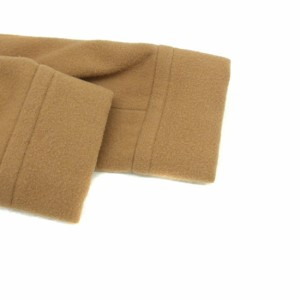 メルローズ MELROSE コート ウール キャメル 3 180104 レディース ベクトル【中古】