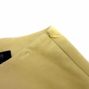 ロペ ROPE スカート フェイクスエード ロング パステルイエロー size 63-90 180131 レディース ベクトル【中古】
