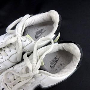 ナイキ NIKE AF1 306509 スニーカー ローカット 白 ホワイト size 24.0cm 靴 180130 メンズ ベクトル【中古】