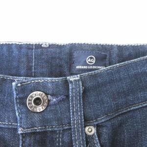 エージー AG デニムスカート タイト ひざ丈 ネイビー 紺 size 23 180309 レディース ベクトル【中古】