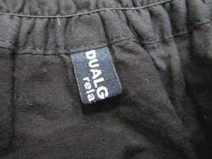 DUALGARNET イージースカート 刺繍 F 黒 LEK 0306 レディース ベクトル【中古】