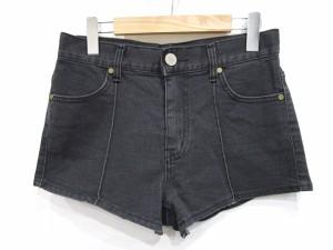 ラグナムーン LagunaMoon ショートパンツ ブラックデニム S 黒 LEK 0306