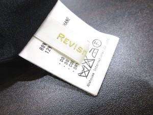 REVISITATION アバハウス ワンピース ストレッチ 黒  LEK 0306 レディース ベクトル【中古】