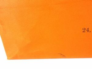 458ac69c4389 エルメス HERMES ショップ袋 ショッパー 純正 紙袋 42cm×46cm×17cm 大きめ 鞄 付属品