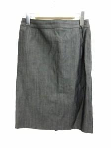 ユナイテッドアローズ UNITED ARROWS スカートスーツ セットアップ ダークグレー 36  レディース ベクトル【中古】
