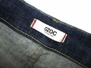 オゾック OZOC ショートパンツ デニムパンツ インディゴ 紺 40 ※I-129 【中古】
