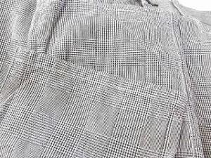 アールニューボールド R.NEWBOLD パンツ クロップドパンツ グレンチェック コットン 100 グレー M メンズ ベクトル【中古】