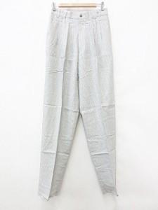 c2429715bf31 未使用品 SUPERIOR パンツ スラックス 3タック チェック ホワイト ブラック 白 黒 73 メンズ