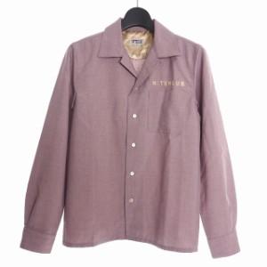 gu オープン カラー シャツ 長袖